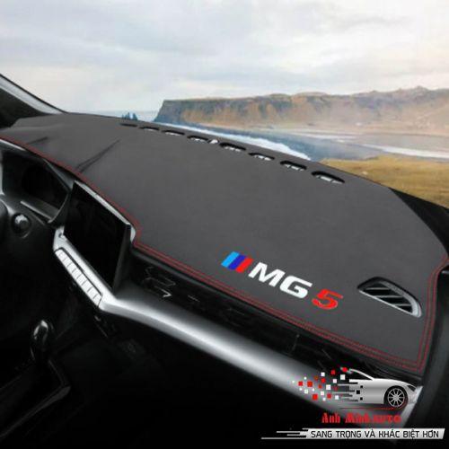 Thảm taplo cao cấp cacbon MG5