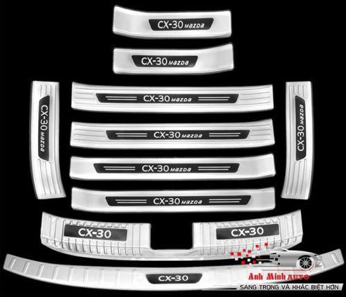 Ốp bậc bước inox cao cấp CX-30 QH02