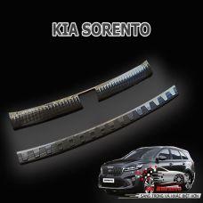 Ốp inox viền trong và ngoài cốp xe KIA SORENTO