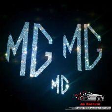 Bộ 3 miếng dán đính đá MG ZS và MG HS