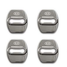 Ốp khóa cửa chống gỉ cao cấp  khắc logo KIA